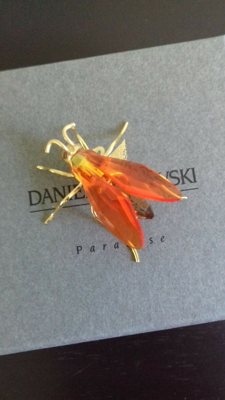 Swarovski Paradise Bugs Bee AMAYA