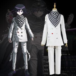 Anime Danganronpa V3 Ouma Kokichi Unisex School Uniform Set Cosplay Costume New