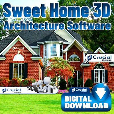 Sweet Home 3d Architecture Software 3d Home Interior And Landscape Design 644824237688 Ebay