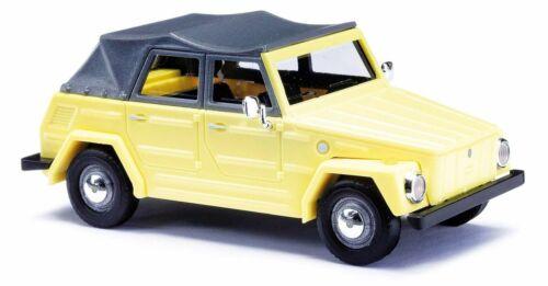 gelb NEU! Kurierwagen Busch 1:87 52701 Volkswagen VW 181 Kübel