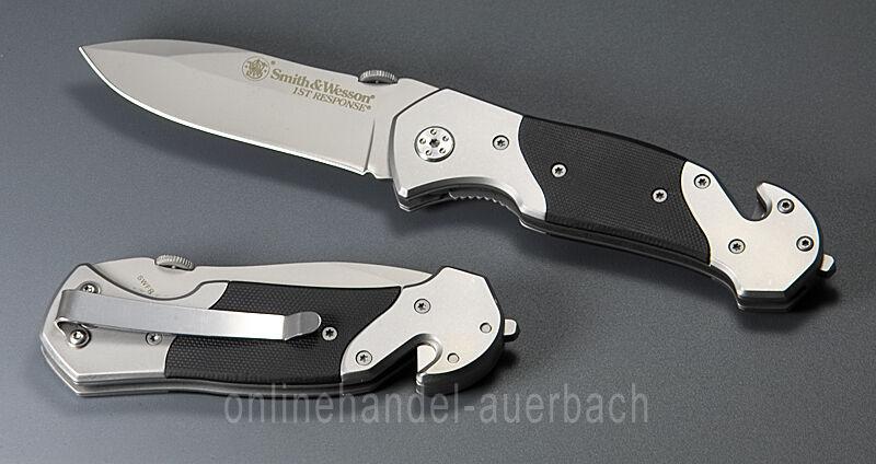Smith & Wesson 1st Couteau response couteau de poche couteau pliant sauvetage Couteau 1st Couteau b4d58a