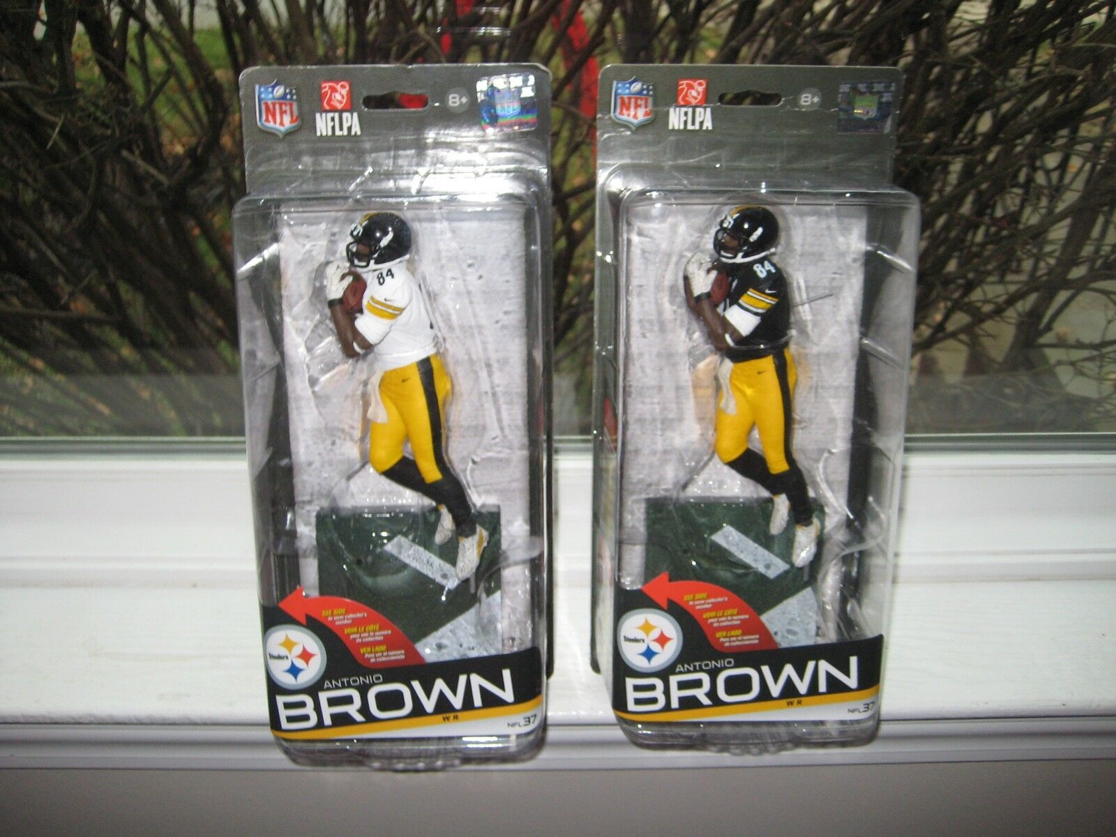 MCFARLANE NFL 37 ANTONIO braun CHASE VARIANT COLLECTOR LEVEL  486/500 LOT