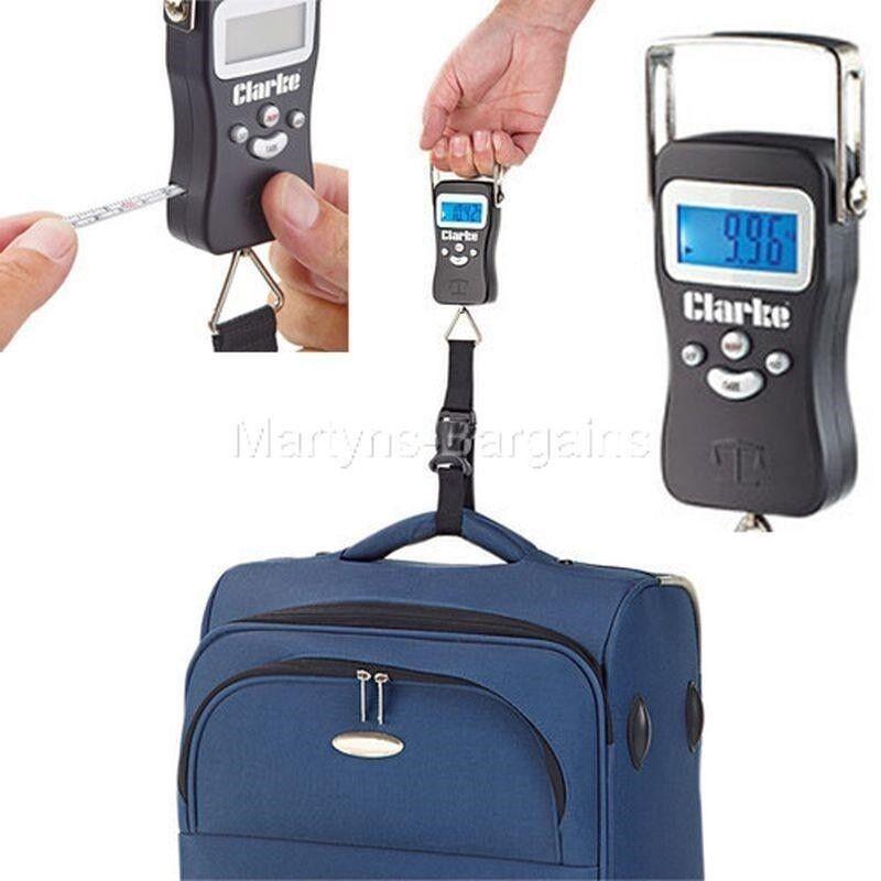 Clarke cht735 cht735 cht735 numérique bagages échelle, adapté pour les poids de 40g de 50 kg db9666