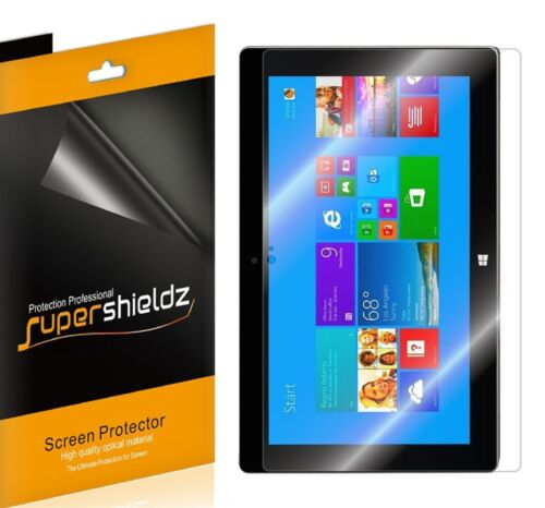 3X Supershieldz Clear LCD Screen Protector Shield for Microsoft Surface 2