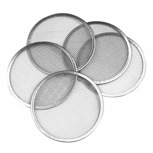 5Pcs 3.3in Seed Sprouting Mesh Screen Strainer Filter Cover Lids for Mason Jars