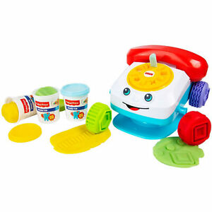 Jouet Créatif pour les Enfants Fisher-Price Téléphone Moule Et Modeler 2732