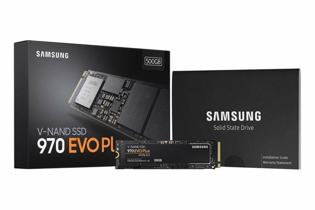 Samsung 970 EVO Plus Series - 500GB PCIe NVMe - M.2 Internal SSD (MZ-V7S500B/AM)