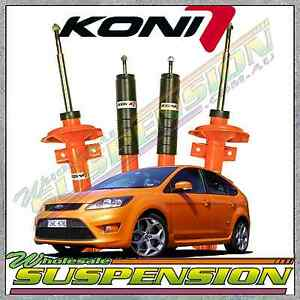 Details About Ford Focus Xr5 Turbo Koni Str T Performance Street Shock Absorbers Set