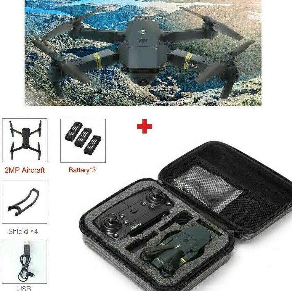 Drone X PRO w  CASE Mavic Pro Wide Angle 720P HD Camera WIFI FPV Quadcopter USA