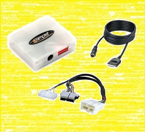 Charge /& control from stereo Corvette 97-04 radio iPod//iPhone interface adapter