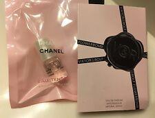 CHANEL CHANCE Eau Tendre + Flowerbomb By Viktor&Rolf Perfume Samples Set