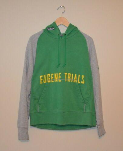 Vintage Nike Pre Lives EUGENE TRIALS Green Hoody S