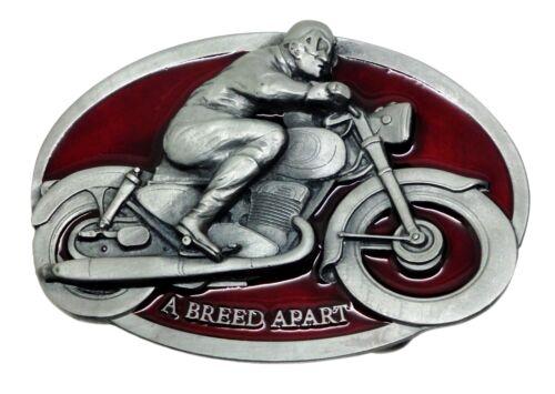 Biker Belt Buckle Motorcycle /& Rider A Breed Apart Bike Authentic Dragon Designs