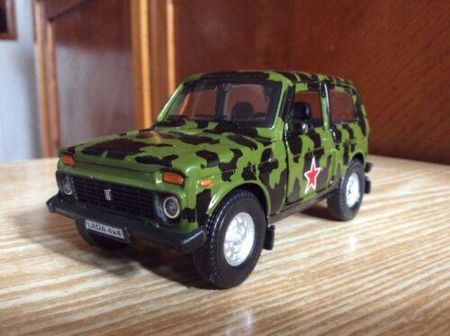 LADA 4x4 camouflage Russian car    Autogrand