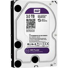WD 3TB Purple Western Digital Surveillance Sata Hard Drive 3.5 WD30PURX ..