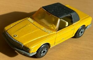 MATCHBOX Lesney Superfast N. 6 giallo MERCEDES 350 SL