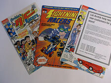 VINTAGE 1990'S ARCHIES RADIO CONTROL R/C RACERS COMIC BOOKS (QTY 3)  *VG-COND*