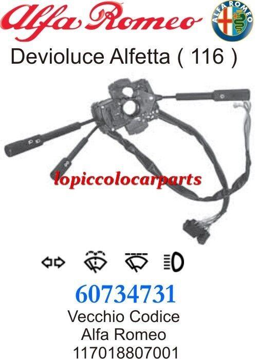 60734731 Devioluce Alfetta (116) 1600-1800-2000 etc dal 1974 1974 dal al 1984 Originale 118958