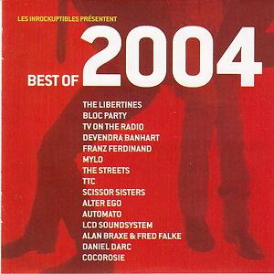 Compilation-CD-Les-Inrockuptibles-Best-Of-2004-Promo-France-M-EX