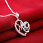 Rose Gold Mum Heart Crystal Necklace Xmas Birthday Gift For Her Mother Mom Women