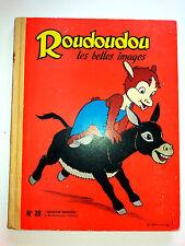 album collection ROUDOUDOU N° 29.185.186.187.188.189.190.191 spécial 192.1963