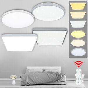 12W LED Deckenleuchte Deckenlampe lampe Badleuchte Weiß Sternenhimmel Flurlampe