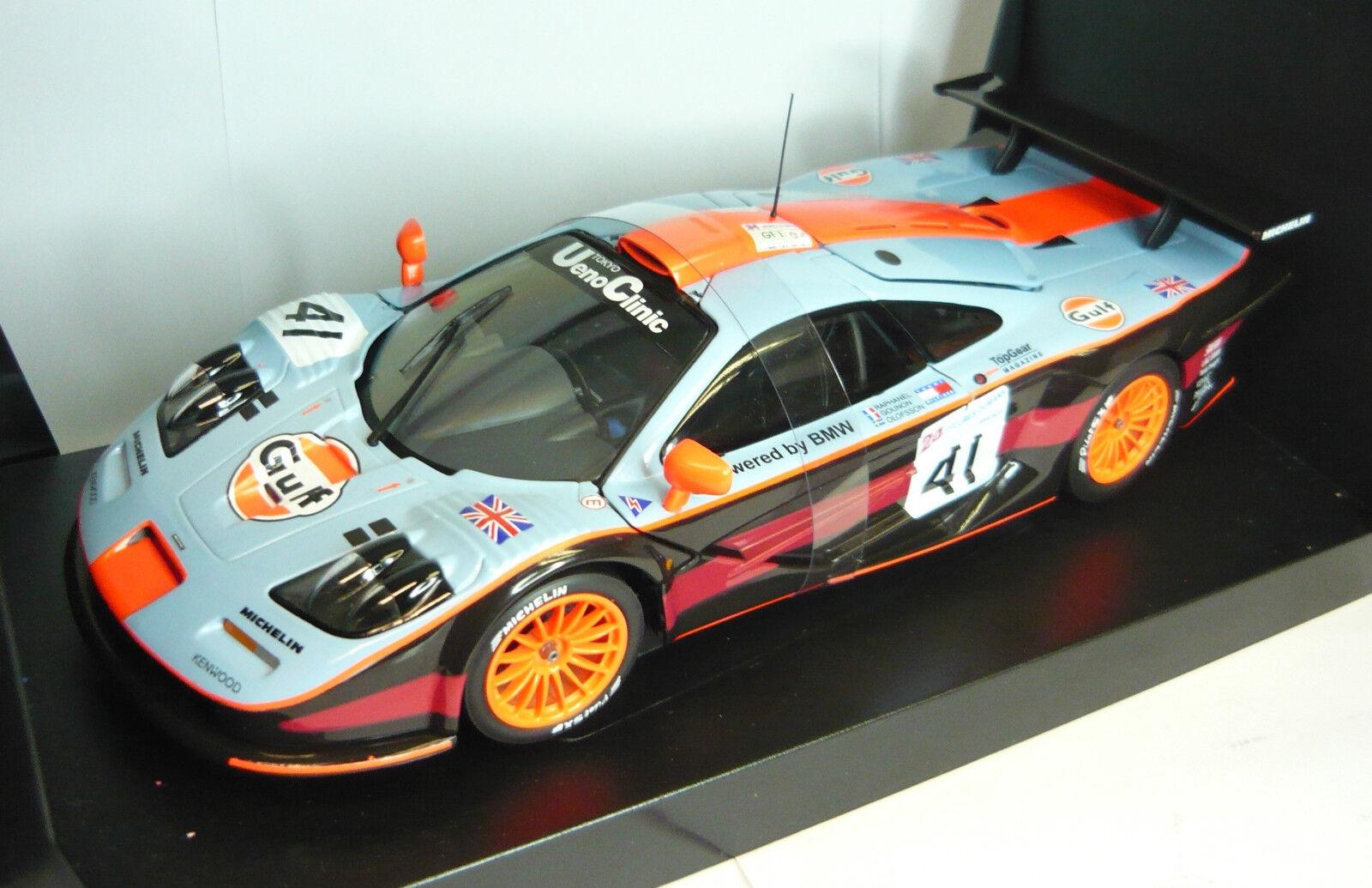 UT MODELS 39727 McLaren f1 GTR Le Mans  41 1997 1 18 Nouveau & dans neuf dans sa boîte