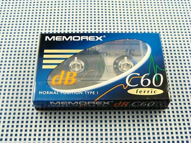 BRAND NEW SEALED Memorex C60 Ferric Blank Cassette (Normal Bias) - Canada