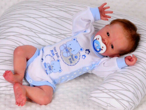Body Erstlingsbody Langarmbody Neugeborene Frühchen Reborn 50 56 62 68