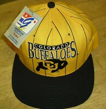 Colorado Buffaloes hat Vintage 90's Snapback w tag! THE GAME Deadstock pinstripe