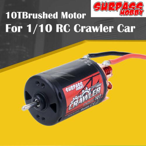 SURPASSHOBBY 5-Slot 550 10T Brushed Motor RC Crawler Car DIY Replacements