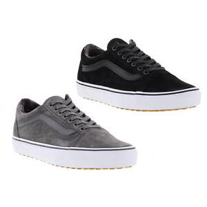 Vans Old Skool MTE Mens All Weather Black Grey Skate Trainers Size ... 8b73b7f6a