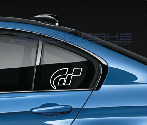 GT Decal Sticker EURO Racing Gran Turismo Sport Racing Sony PS4 Outline Pair