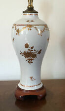 Antique Chinese Export Porcelain Vase as Lamp 18th 19th century 1800 Federal