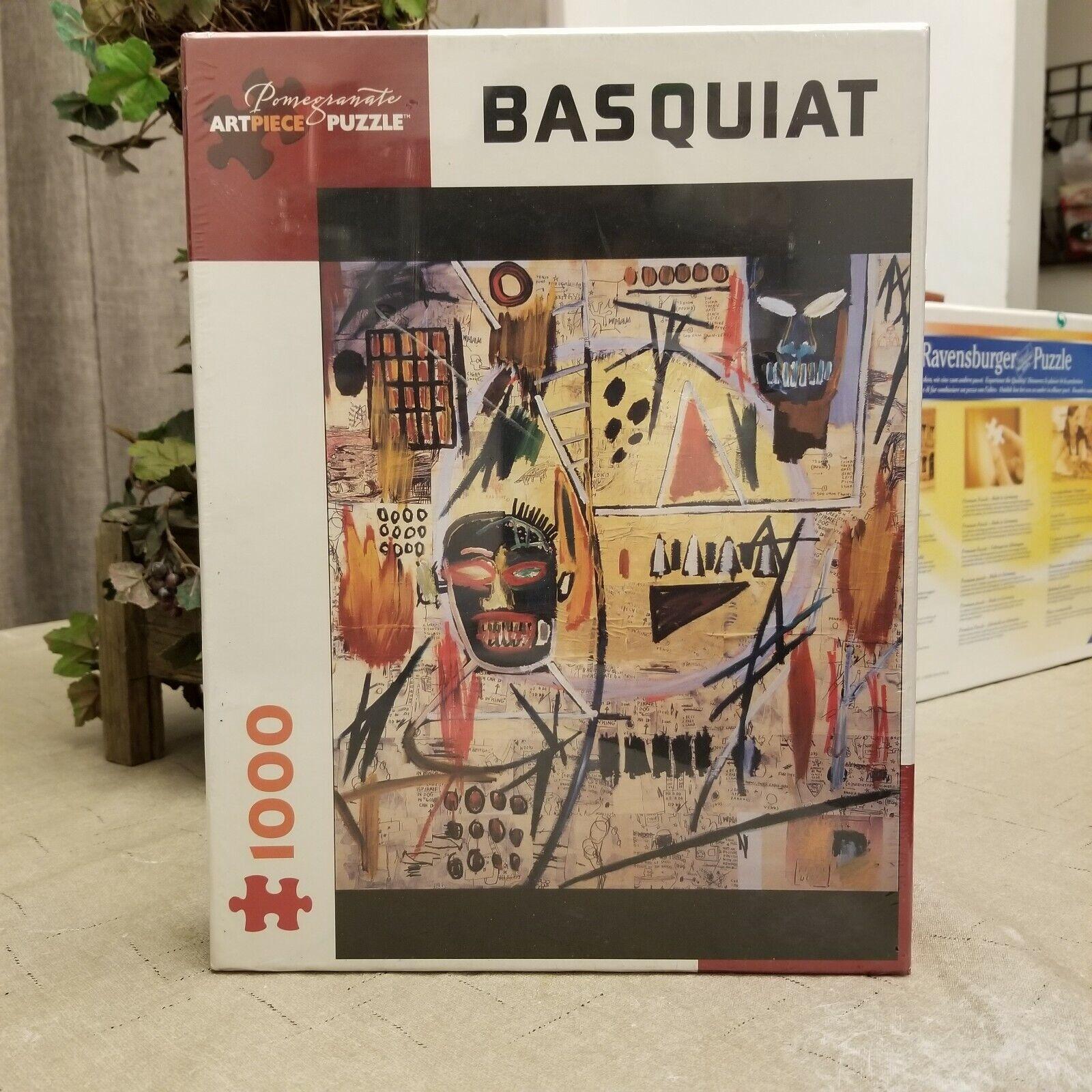 Jean-Michel Basquiat Samo Pomegranate Artpiece Puzzle 1000 Pieces Very Rare New