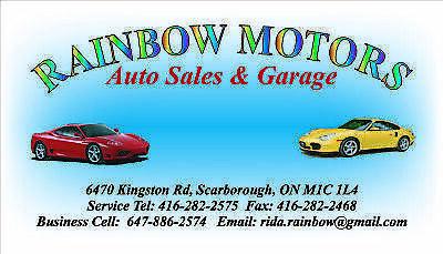 Rainbow Motors Auto Sales And Garage