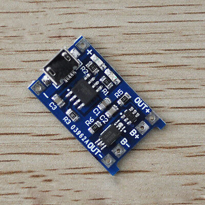Hot Micro USB 5V 1A 18650 Lithium Battery Charger Board With Protection Module