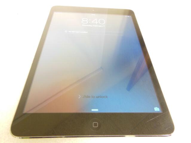 Apple iPad mini 1 A1454 MF442LL/A. 16GB, Wi-Fi + Cellular, 7.9in - Space Gray