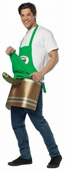 Adult Pickle Vender Costume Dirty Funny Halloween Costume Adult One Size  sc 1 st  eBay & costumes collection on eBay!