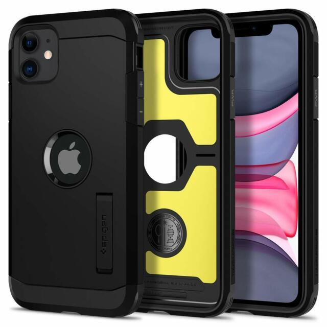 Spigen Tough Armor Works with Apple iPhone 11 Case (2019) - XP Black