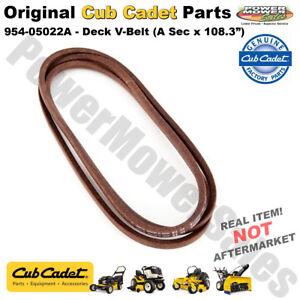 Details about Cub Cadet Deck V-Belt (A Sec x 108 3