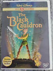 The Black Cauldron Dvd - Walt Disney Gold Collection  - Canadian Seller