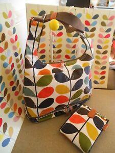 d1e564ee4c2 clearance sale orla kiely classic multi stem print baby bag mat new tags
