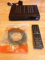 Technika STBHDIS2010 Freeview HD Set Top Box Digital TV HDMI & Remote Control