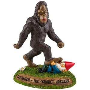 Image Is Loading BigMouth Inc The BigFoot Sasquatch Gnome Wrecker Garden