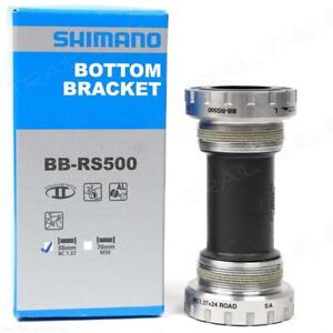 Shimano-BB-RS500-68mm-Hollowtech-II-English-Road-Bike-Bottom-Bracket