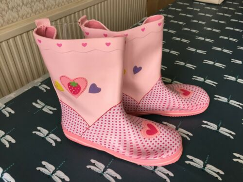 Size Brand New Be Only Sweety Kids Wellies Pink Infant UK 9//Euro 27