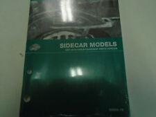 2007 2008 2009 2010 Harley Davidson Sidecar Sidecars Parts Catalog Manual NEW