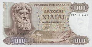 Griechenland / Greece 1000 Drachmen 1970 Pick 198b Unc