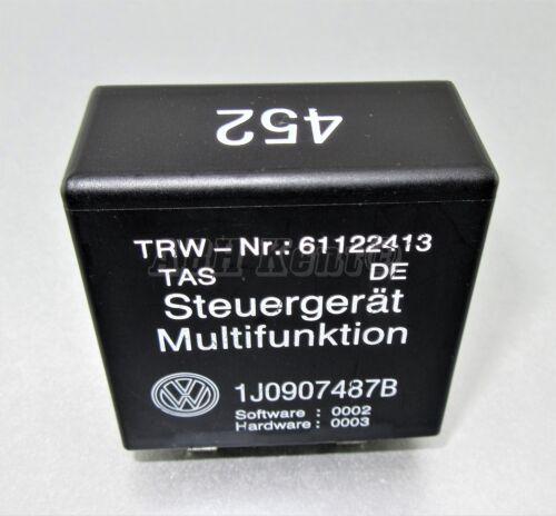 333-Audi VW Negro 452 Steuergerät Multifunktion Módulo de Relé 1J0907487B 61122413